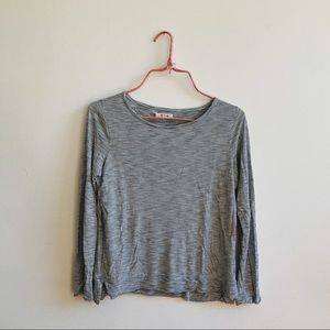 Madewell Striped Long Sleeve Top